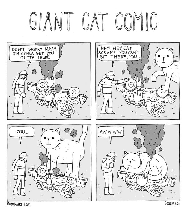 Giant Cat Comic