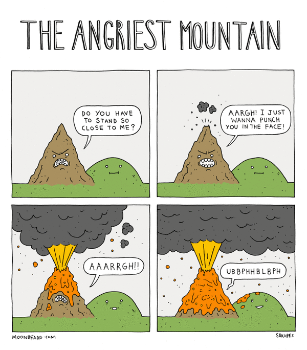 The Angriest Mountain