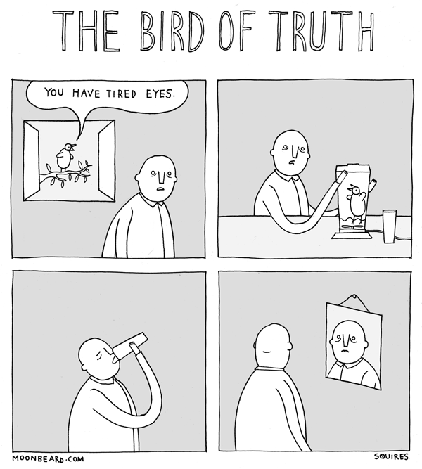 the bird of truth