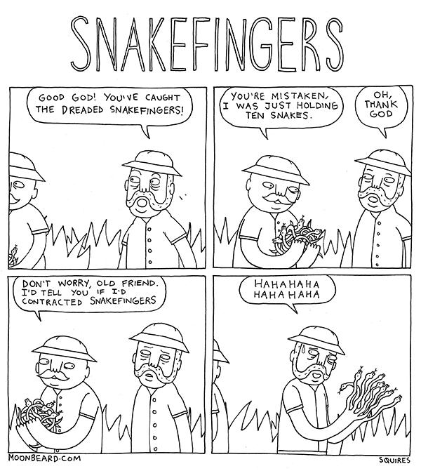 snakefingers
