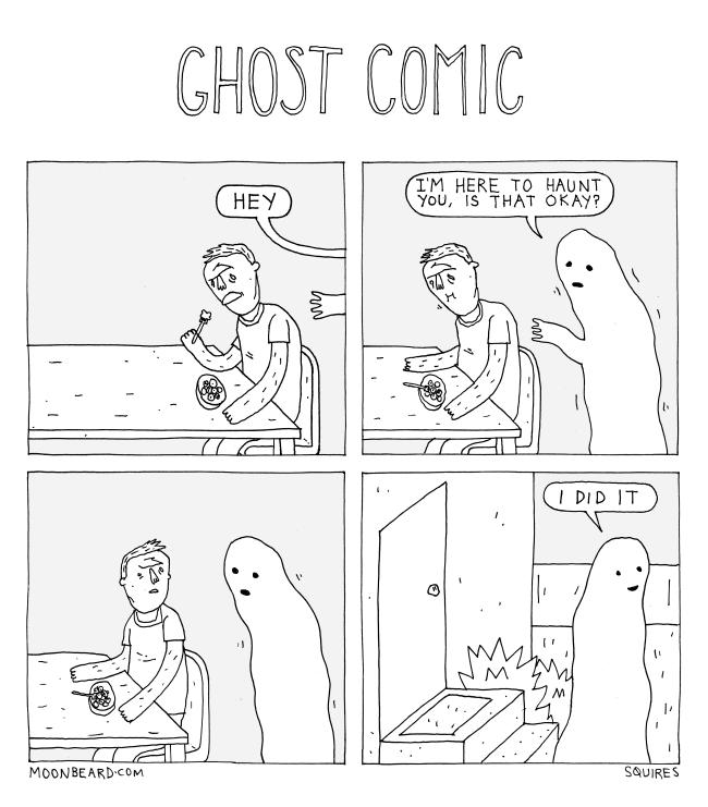 ghost comic