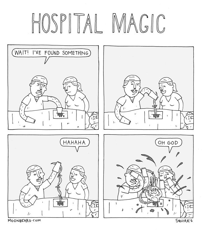 hospital magic