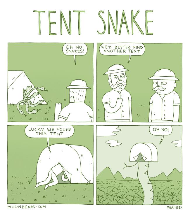 Tent Snake