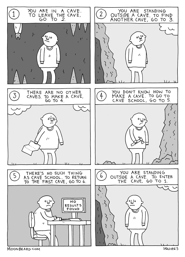 Choose Your Own Adventure Comic