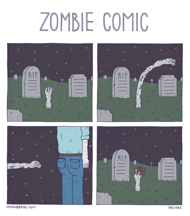 Zombie Comic