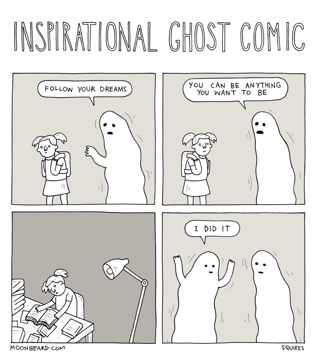 Inspirational Ghost Comic